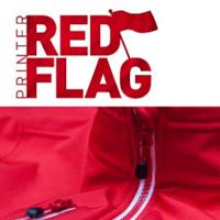 Printer Red Flag Promo Bekleidung