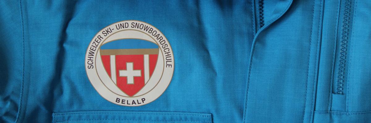Schneesportjacke mit Druck