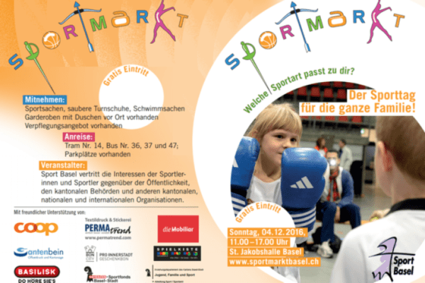 Permatrend am Sportmarkt Basel