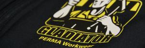 Arbeitskleidung mit Logo