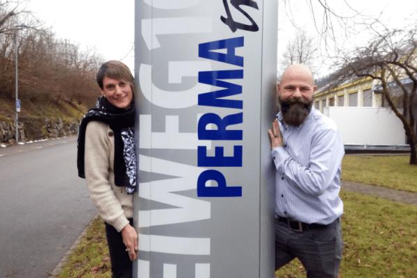 Neue Geschäftsinhaber Permatrend AG Cécile Alarcon und Stefan Meyer