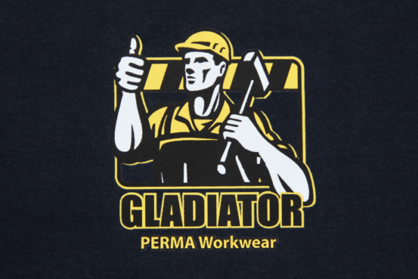 Perma Workwear Textildruck Siebdruck Transfer