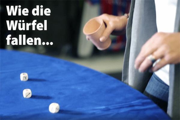 Facebook Gewinnspiel - Wie die Würfel fallen Runde - 8